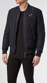 Черная куртка Philipp Plein, фото