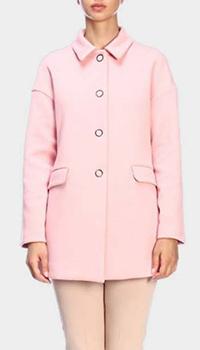 Розовое пальто Emporio Armani, фото
