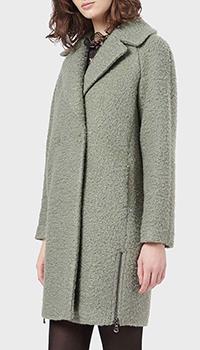 Зеленое пальто Emporio Armani, фото
