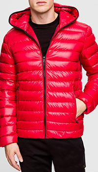 Красная куртка Ea7 Emporio Armani, фото