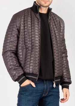 Стеганая куртка Cesare Paciotti с высоким воротником, фото