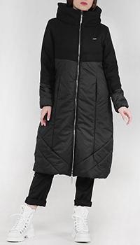 Пальто Liu Jo удлиненное с капюшоном, фото