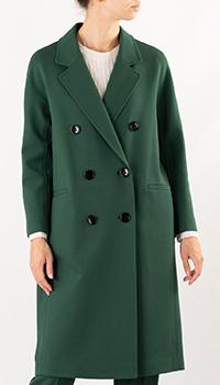Пальто Dorothee Schumacher зеленого цвета, фото