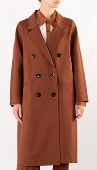 Женское пальто Dorothee Schumacher в коричневом цвете, фото