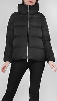 Куртка-оверсайз стеганая Add черного цвета, фото
