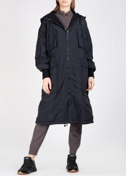 Черное пальто Iceberg с объемными карманами, фото