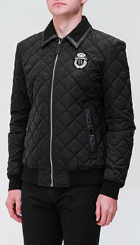 Куртка Billionaire со вставками из кожи, фото
