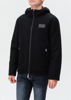 Шерстяная куртка Billionaire с капюшоном, фото