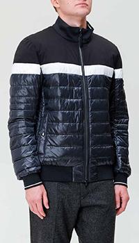 Синяя куртка Bogner с контрастными деталями, фото