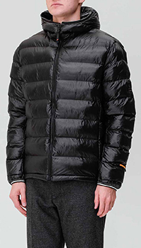 Черная куртка Bogner с логотипом, фото