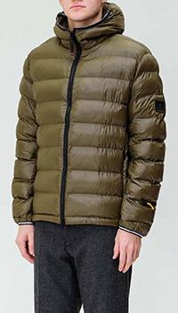 Зеленая куртка Bogner с капюшоном, фото