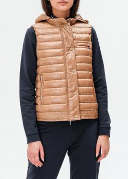 Бежевый жилет Bogner с карманами на молнии, фото