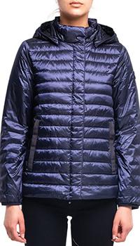 Легкий пуховик Bogner Gini темно-синего цвета, фото