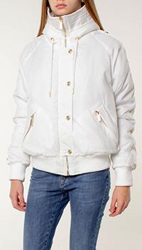 Куртка Versace Jeans Couture с воротником-капюшоном, фото