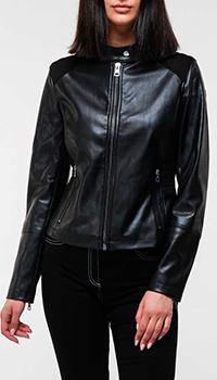 Куртка из экокожи Calvin Klein в черном цвете, фото