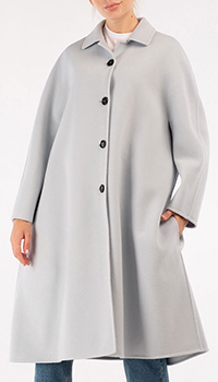 Пальто Marni серо-голубого цвета, фото