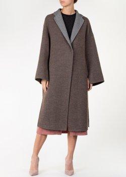 Пальто с разрезами Fabiana Filippi двустороннее, фото