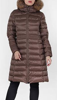 Стеганое пальто Jott приталенное, фото