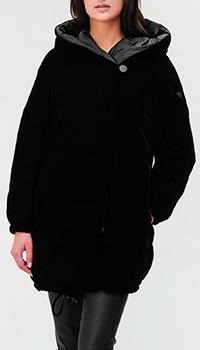 Стеганый пуховик Emporio Armani с карманами, фото
