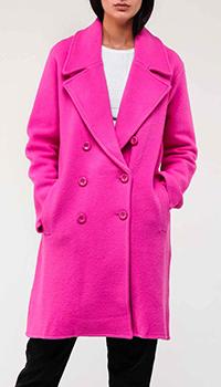 Пальто Emporio Armani розового цвета, фото