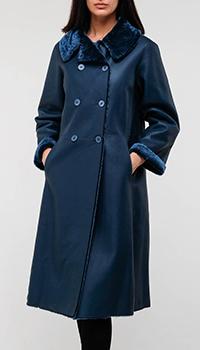 Двухстороннее утепленное пальто Emporio Armani, фото