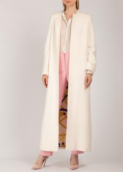 Пальто Iva Nerolli из белой шерсти, фото