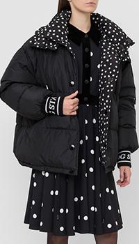 Двусторонний пуховик Dolce&Gabbana с капюшоном, фото