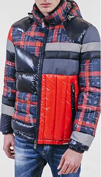 Стеганая куртка Frankie Morello с капюшоном, фото
