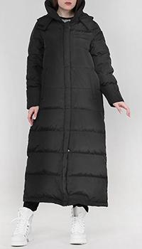 Пальто-оверсайз Frankie Morello черного цвета, фото