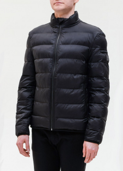 Стеганая куртка Hugo Boss черного цвета, фото