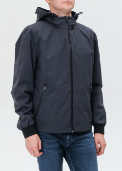 Синяя куртка Hugo Boss со стеганым жилетом, фото