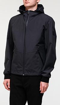 Синяя куртка Hugo Boss с жилетом-подстежкой, фото