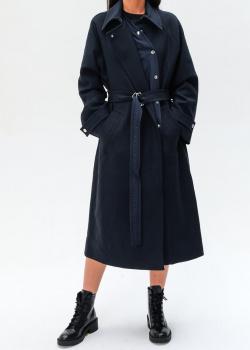 Шерстяное пальто Kenzo с поясом, фото