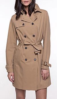 Тренч Trench & Coat  бежевого цвета, фото