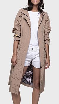 Плащ Trench & Coat с капюшоном бежевого цвета, фото
