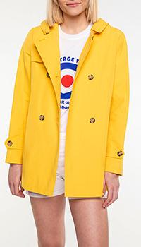 Тренч Trench & Coat ярко-желтого цвета, фото