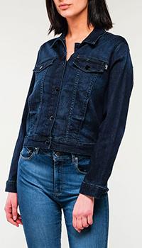 Куртка Love Moschino с принтом на спине, фото