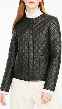 Стеганная куртка Max Mara Weekend черного цвета, фото