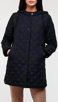 Синяя куртка Max Mara Weekend с геометрической стежкой, фото