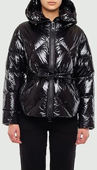 Черная куртка Montecore с геометрической стежкой, фото
