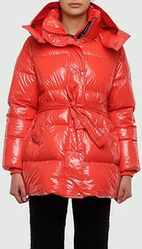 Красная куртка Montecore с капюшоном, фото
