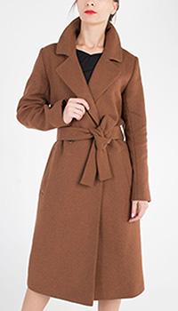 Двубортное пальто Trench & Coat коричневого цвета, фото