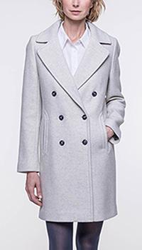 Серое пальто Trench & Coat прямого кроя, фото