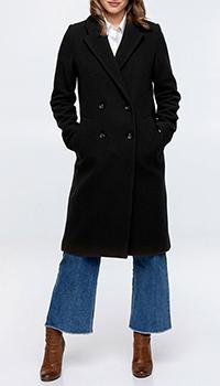 Классическое пальто Trench & Coat Meribel черного цвета, фото