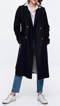 Темно-синее пальто Trench & Coat Tournon, фото