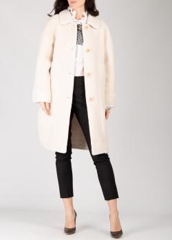 Пальто Silvian Heach молочного цвета, фото