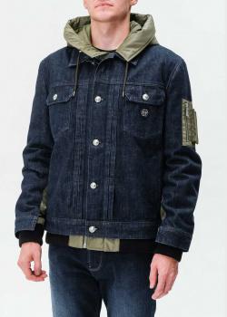 Джинсовая куртка Philipp Plein с подкладкой, фото