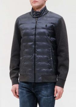Куртка в клетку Polo Ralph Lauren с горизонтальной стежкой, фото
