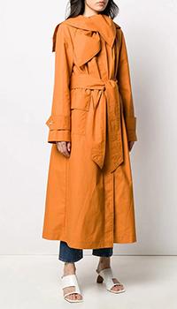Тренч Lanvin оранжевого цвета, фото