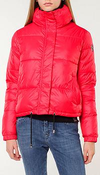 Короткая куртка Silvian Heach красного цвета, фото